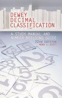 Dewey Decimal Classification  22nd Edition