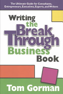 Writing the Breakthrough Business Book
