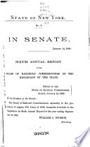Annual Report Of The Railroad Commissioners Of The State Of New York  And Of The Tabulations And Deductions From The Reports Of The Railroad Corporations  Made To The Board  For The Year Ending