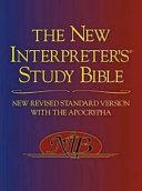 The New Interpreter s Study Bible