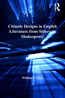Pdf Chiastic Designs in English Literature from Sidney to Shakespeare Telecharger