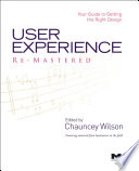 User Experience Re Mastered Book