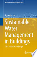 Sustainable Water Management In Buildings Book PDF