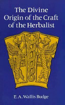 The Divine Origin of the Craft of the Herbalist