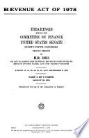 Revenue Act of 1978