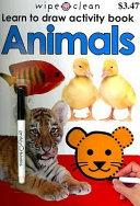 Wipe Clean Activity Book Animals Book PDF