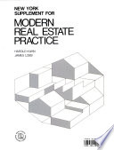 New York Supplement for Modern Real Estate Practice