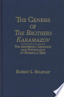 The Genesis of The Brothers Karamazov