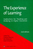 The Experience of Learning Book