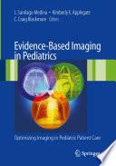 Evidence Based Imaging In Pediatrics Book PDF