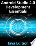 Android Studio 4 0 Development Essentials   Java Edition