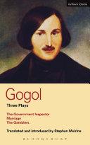 Gogol Three Plays
