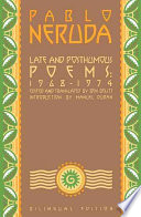 Late and Posthumous Poems  1968 1974