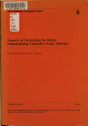 Exports of Technology by Newly Industrializing Countries  Latin America