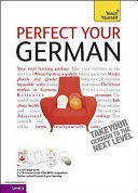 TEACH YOURSELF PERFECT YOUR GERMAN CD PACK