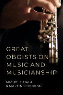 Great Oboists on Music and Musicianship Pdf/ePub eBook