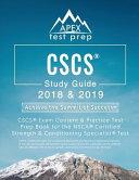 CSCS Study Guide 2018 & 2019