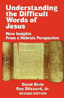 Understanding the Difficult Words of Jesus Book
