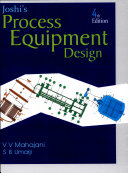 Joshi s Process Equipment Design Book