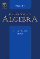 Handbook of Algebra Book