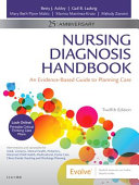 Cover of Nursing Diagnosis Handbook