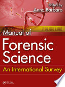 Manual of Forensic Science Book