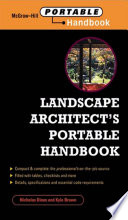Landscape Architect S Portable Handbook PDF