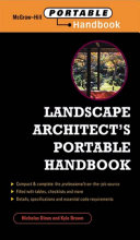 Landscape Architect's Portable Handbook Pdf/ePub eBook