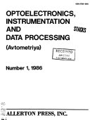 Optoelectronics Instrumentation And Data Processing Book PDF
