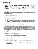 Us Epa Green Lights Decision Support System