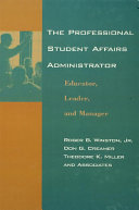 The Professional Student Affairs Administrator