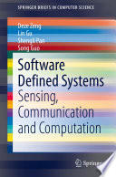 Software Defined Systems