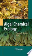 Algal Chemical Ecology Book PDF