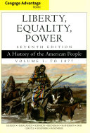 Liberty  Equality  Power   Mindtap History Access Card