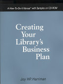 Creating Your Library S Business Plan