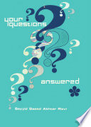 Your Questions Answered Volume I Book