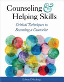 Counseling and Helping Skills Book