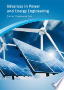 Advances in Power and Energy Engineering Book