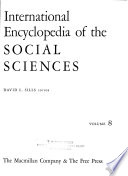 International Encyclopedia of the Social Sciences