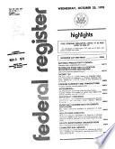 Federal Register Book
