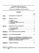 Legislation on Emergency Medical Services