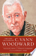 The Lost Lectures of C  Vann Woodward
