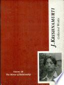 The Collected Works Of J Krishnamurti Vol Iii