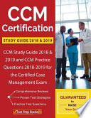 CCM Certification Study Guide 2018 & 2019