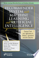 Recommender System with Machine Learning and Artificial Intelligence Book