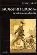 Mussolini e l'Europa