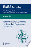 4th International Conference on Biomedical Engineering in Vietnam Book