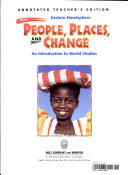 Holt People  Places  and Change