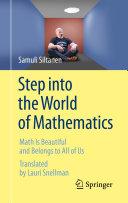 Step into the World of Mathematics