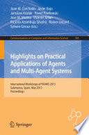 Highlights on Practical Applications of Agents and Multi Agent Systems